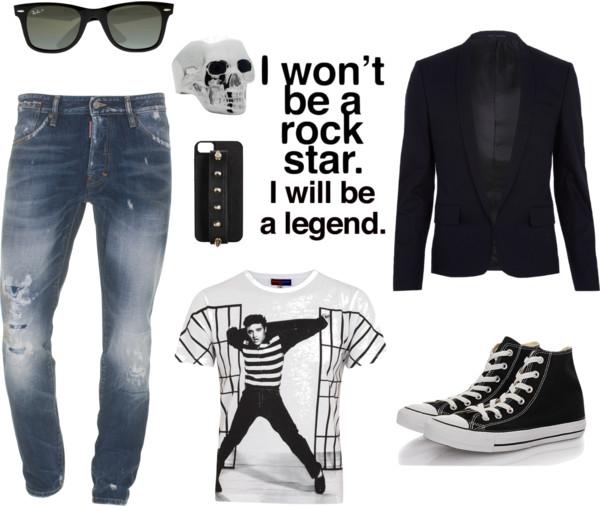 """""""I won't be a rockstar i will be a legend """""""