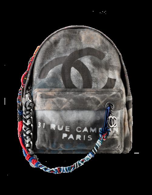 Chanel-Black-Graffiti-Backpack-Bag-Spring-Summer-20141